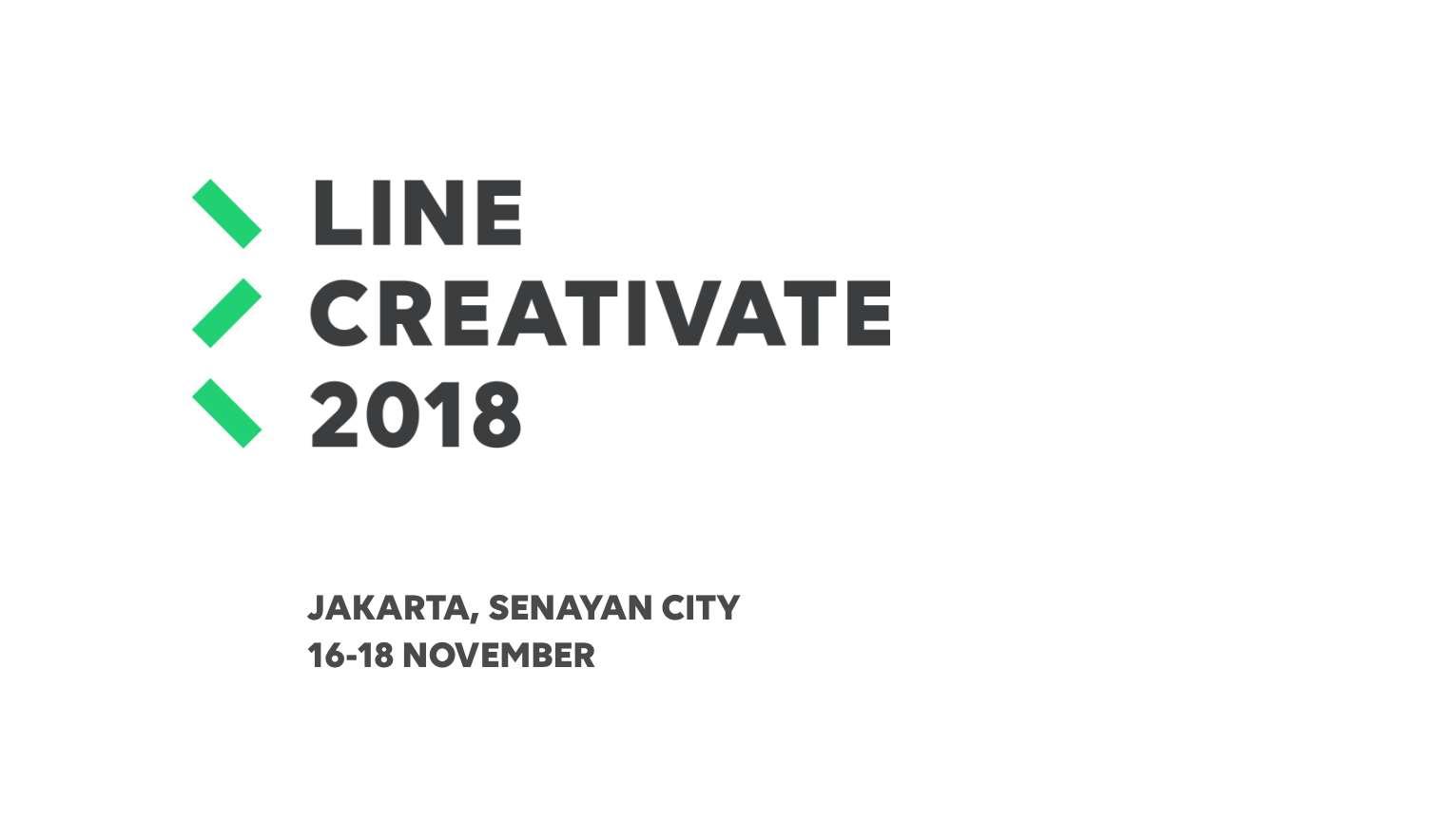 Line Creativate 2018 Sudah Dimulai