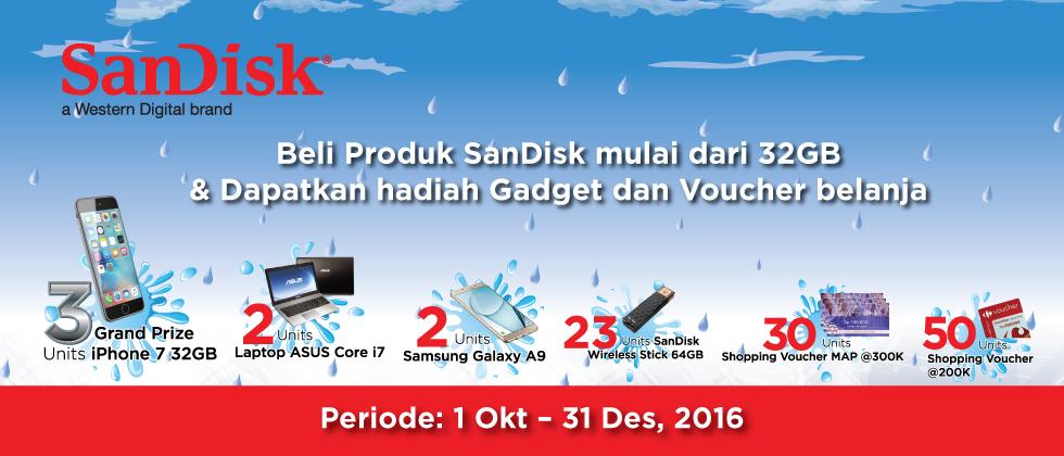 Sandisk Promo Akhir Tahun 2016