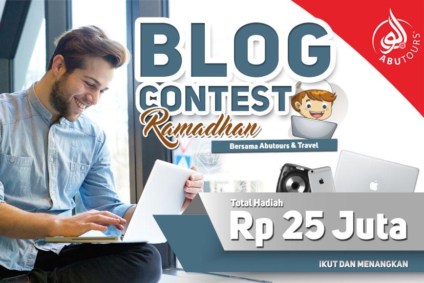 Blog Contest Bersama Abutours