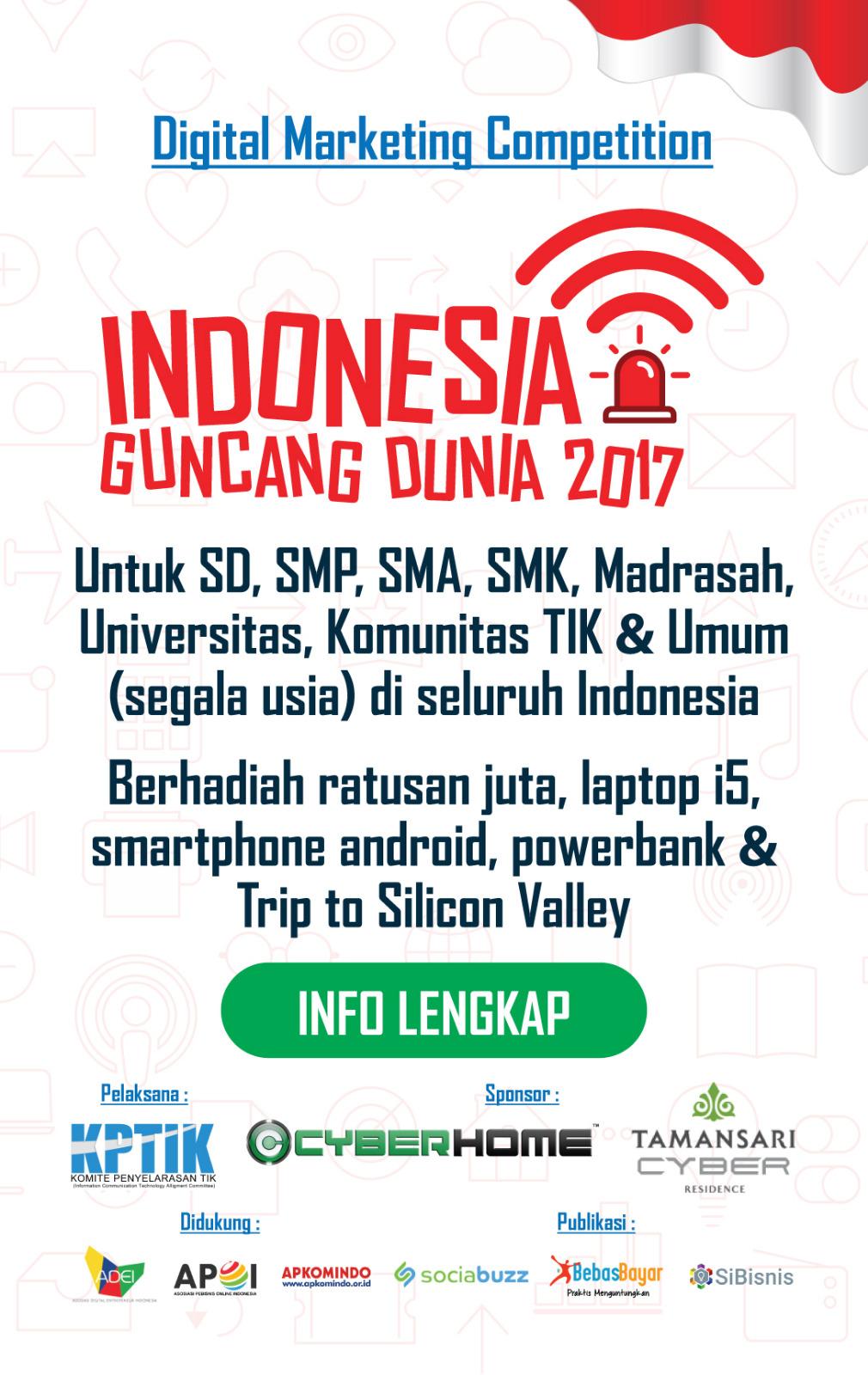 Indonesia Guncang Dunia 2017