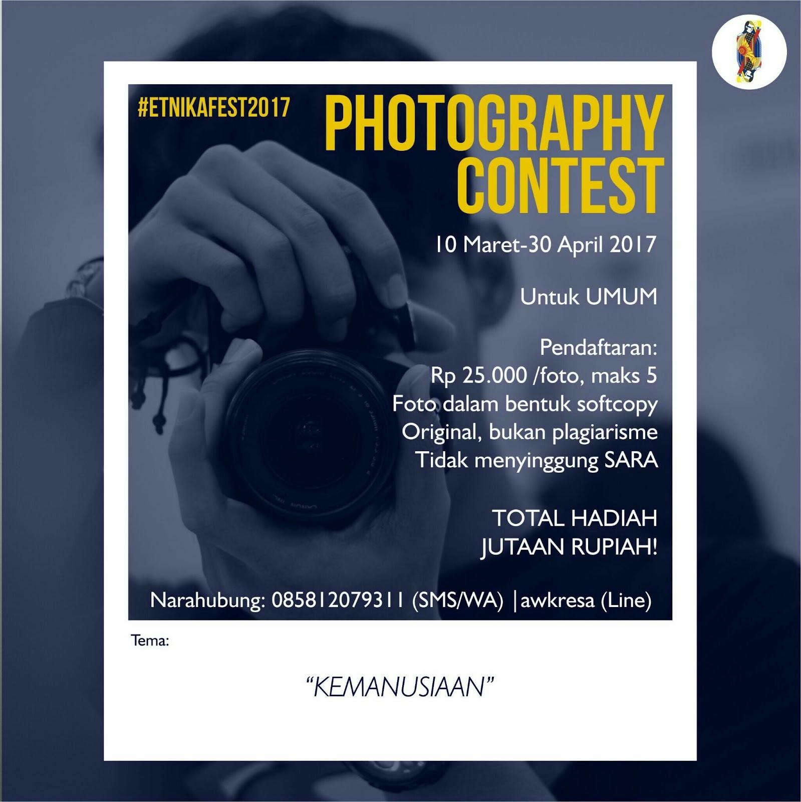 Photography Contest ETNIKA FEST 2017