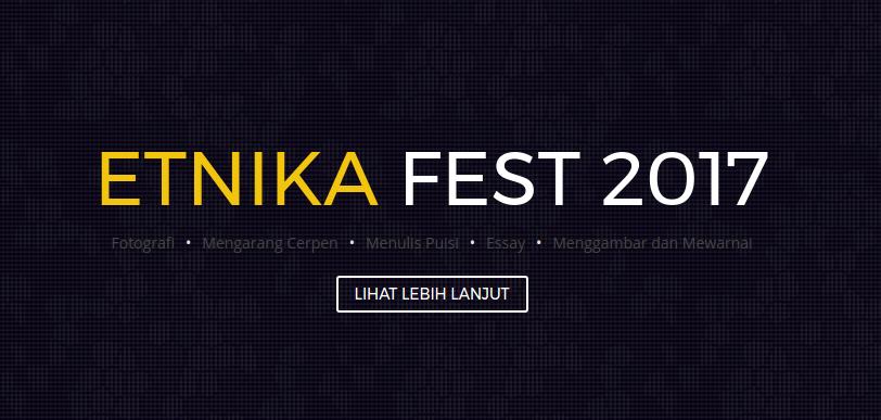 Lomba Menggambar dan Mewarnai ETNIKA FEST 2017