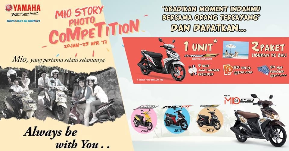 Yamaha Mio Story Photo Competition