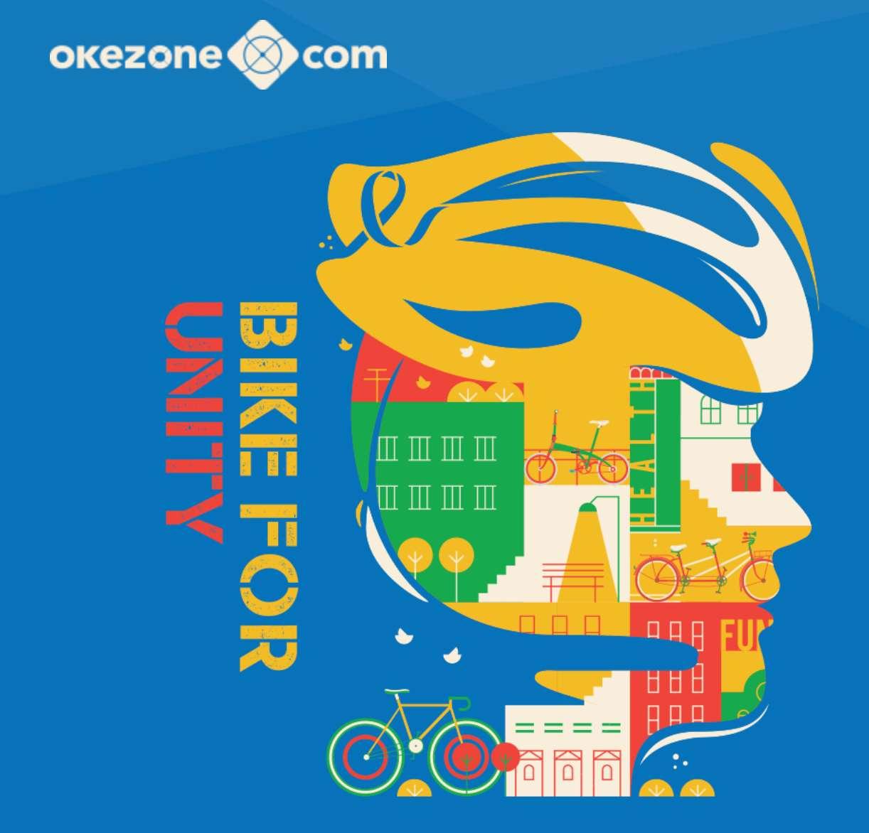 Bike For Unity dari Okezone.com