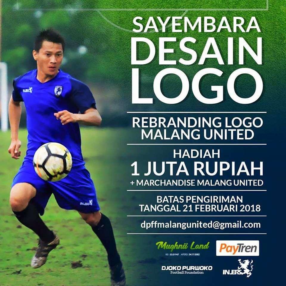 Sayembara Desain Logo Rebranding Logo Malang United