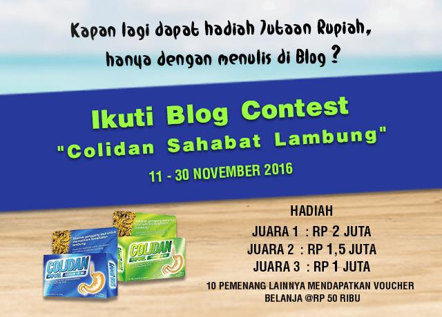 Blog Contest Colidan Sahabat Lambung