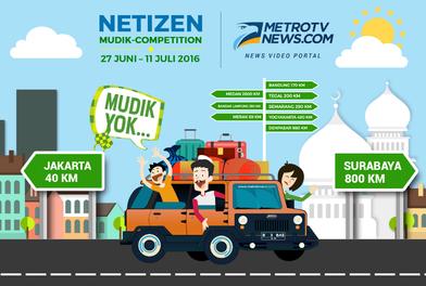 Netizen Mudik Competition
