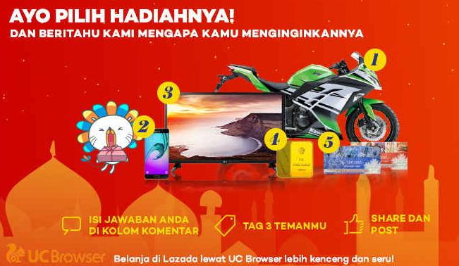 Facebook Game Ramadhan Sale dari Lazada