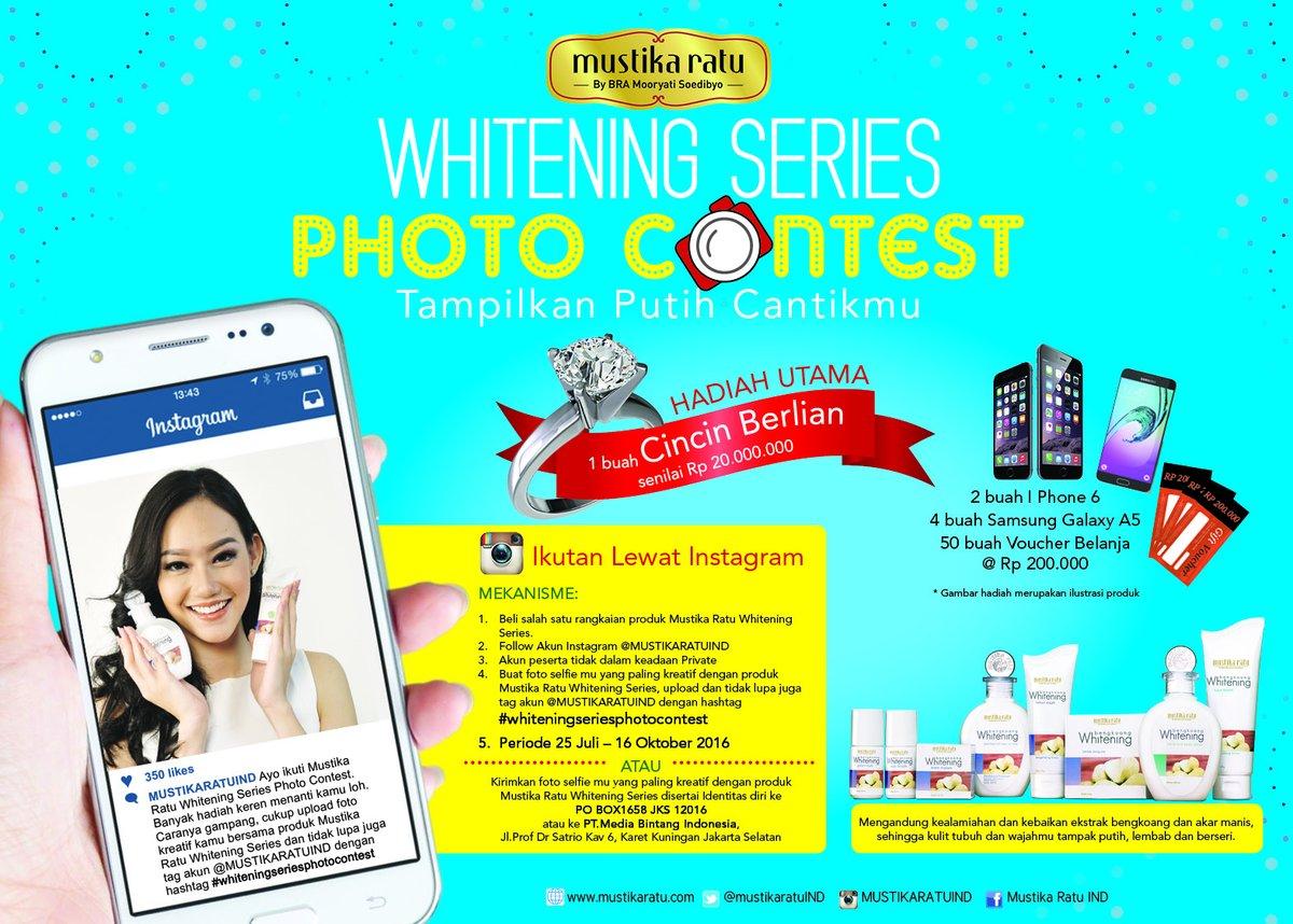 Mustika Ratu Whitening Series Photo Contest