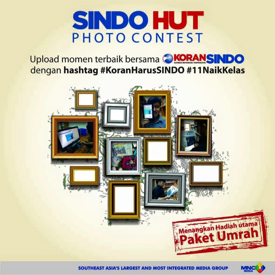Photo Contest dalam Rangka HUT SINDO