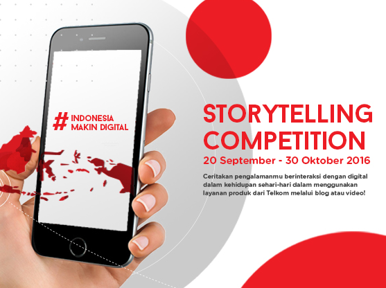 Indonesia Makin Digital Story Telling Competition