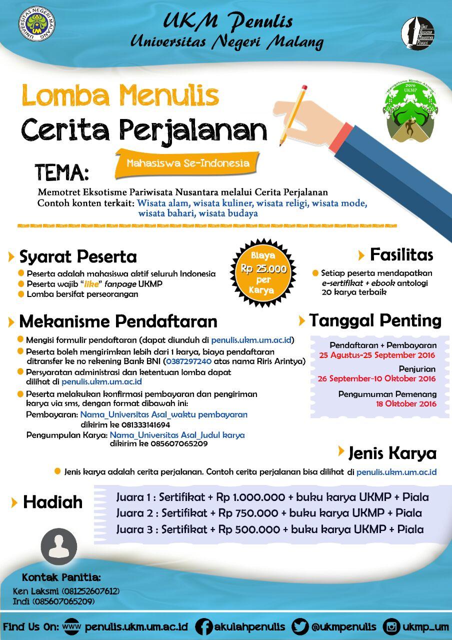 Unit Kegiatan Mahasiswa Penulis Universitas Negeri Malang