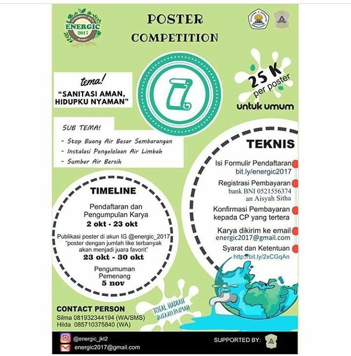 Poster Competition Energic 2017