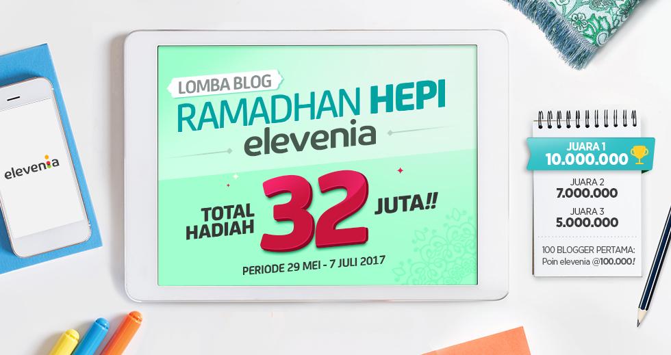 Lomba Blog ramadhan Hei Elevenia
