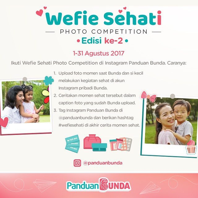 Wefie Sehati Photo Competition Edisi ke-2