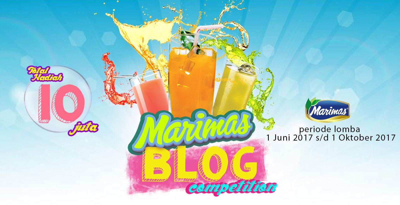 Marimas Blog Competition