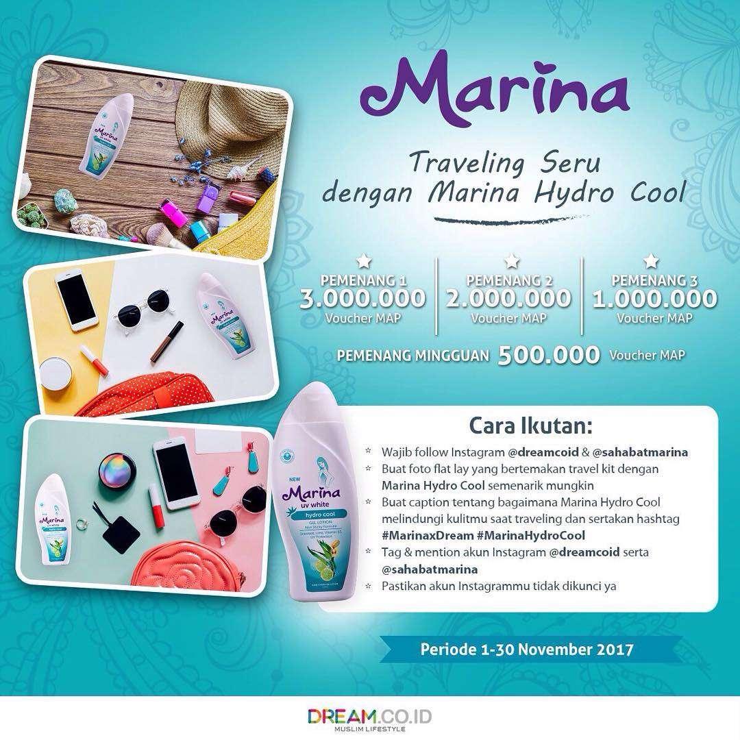 Traveling Seru dengan Marina Hydro Cool