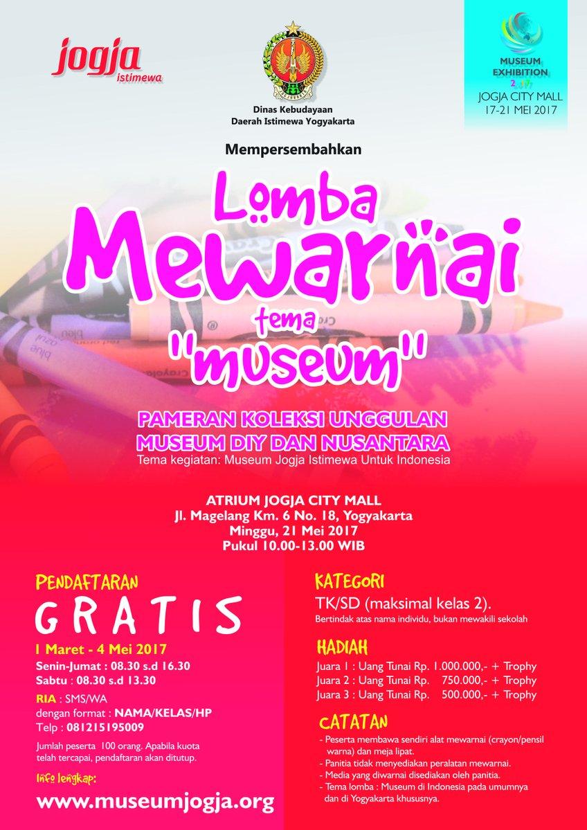 "Lomba Mewarnai Tema ""Museum"""