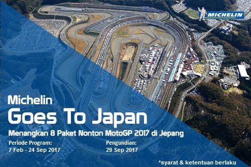 Nonton MotoGP ke Jepang Bareng Michelin