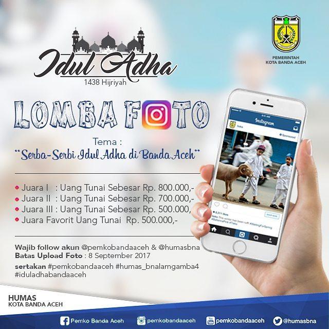 Lomba Foto Instagram Serba-Serbi Idul Adha di Banda Aceh