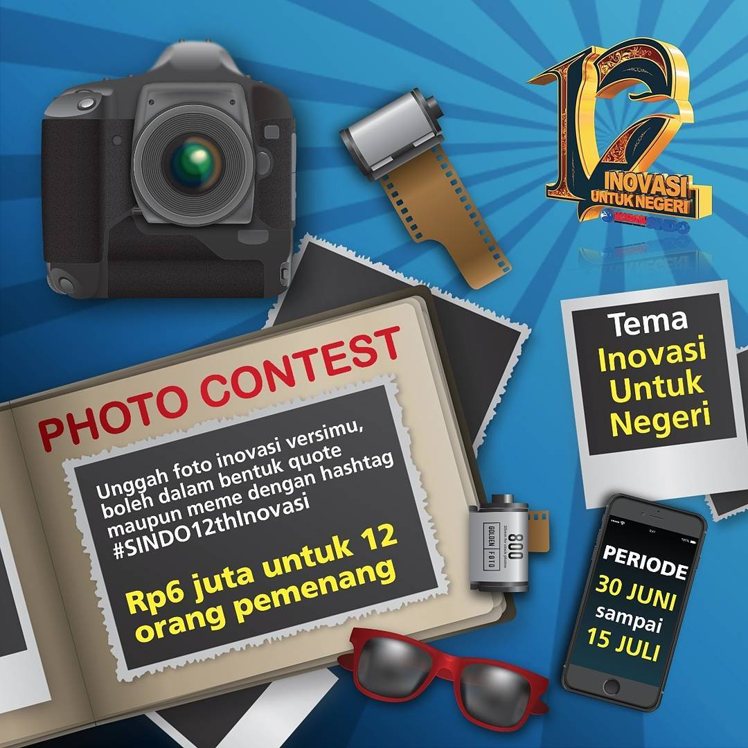 Photo Contest HUT ke-12 Koran Sindo