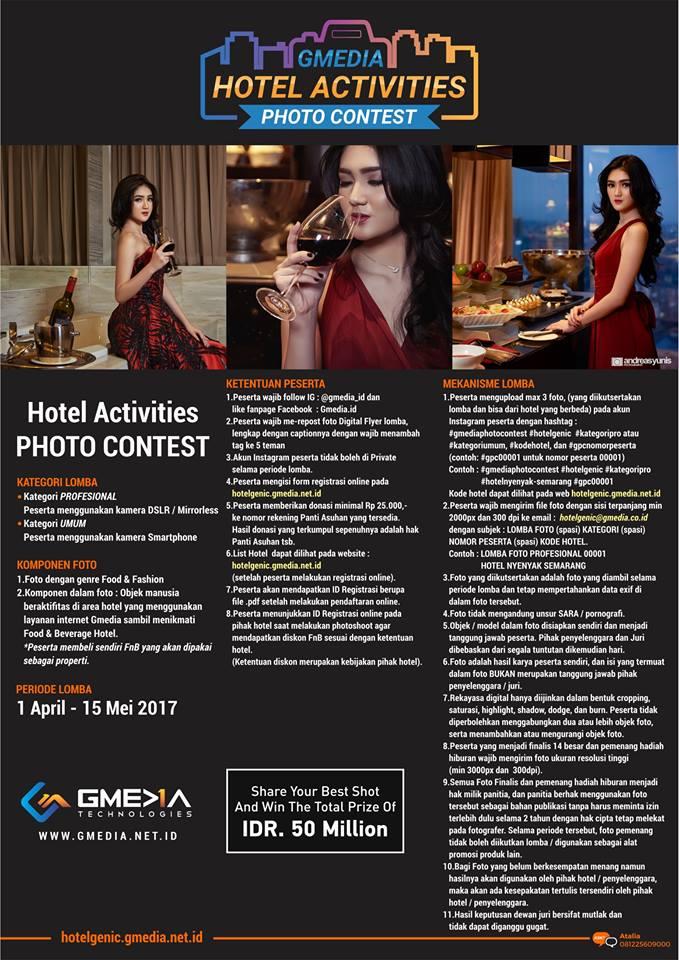 GMEDIA Hotel Activities Photo Contest