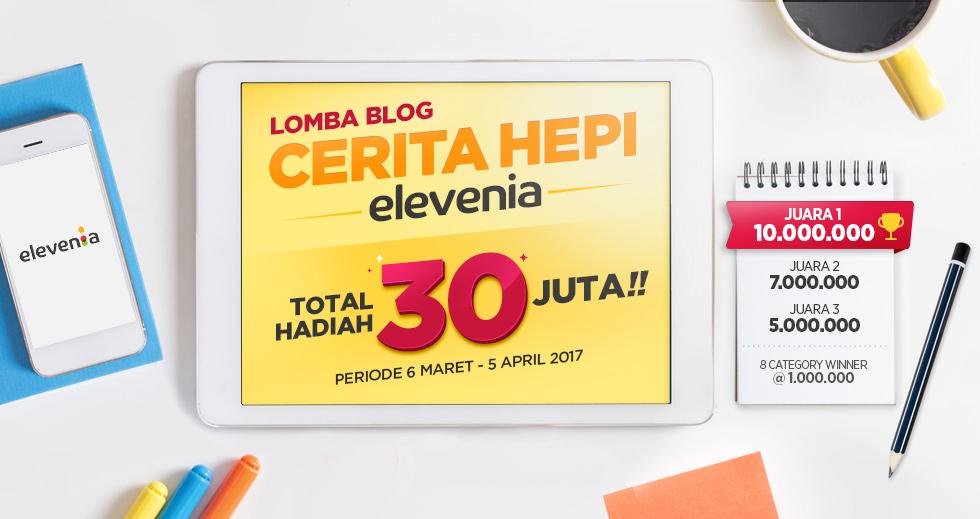 Lomba Blog Cerita Hepi Elevenia