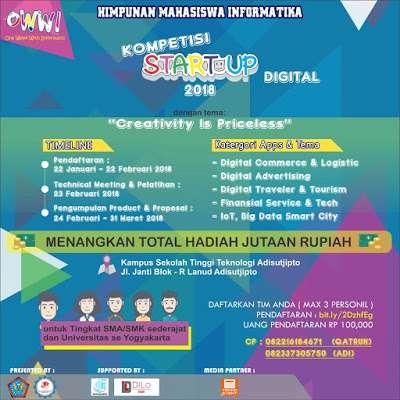 Kompetisi Startup Digital 2018