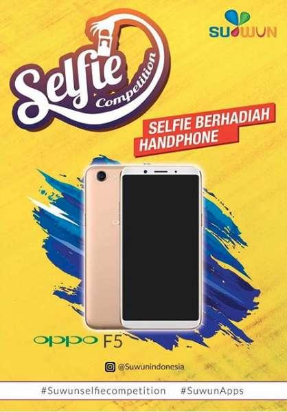 Selfie Competition Berhadiah Smartphone dari SuwunApp