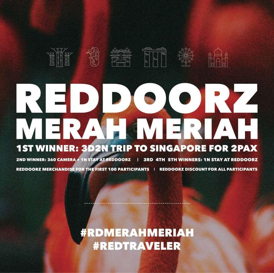 Kompetisi Foto dari RedDoorz Hadiah Jalan-Jalan ke Singapura