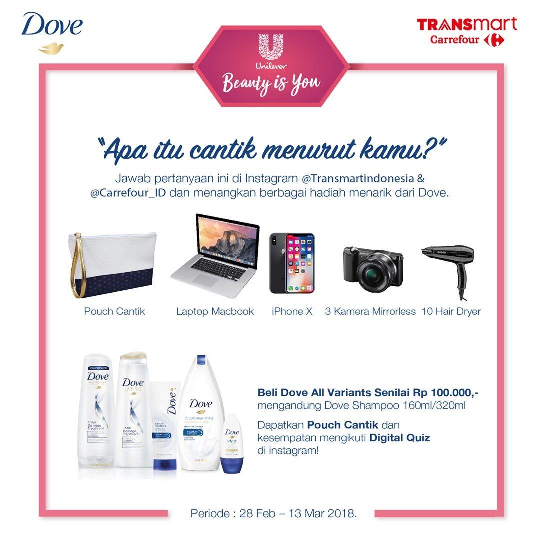 Apa Itu Cantik Menurut Kamu dari Transmart Carrefour