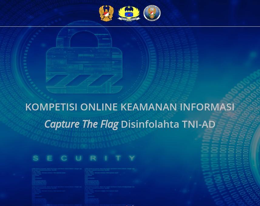Capture The Flag HUT Disinfolahta TNI-AD