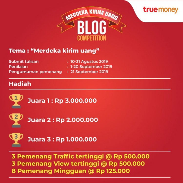 Merdeka Kirim Uang Blog Competition