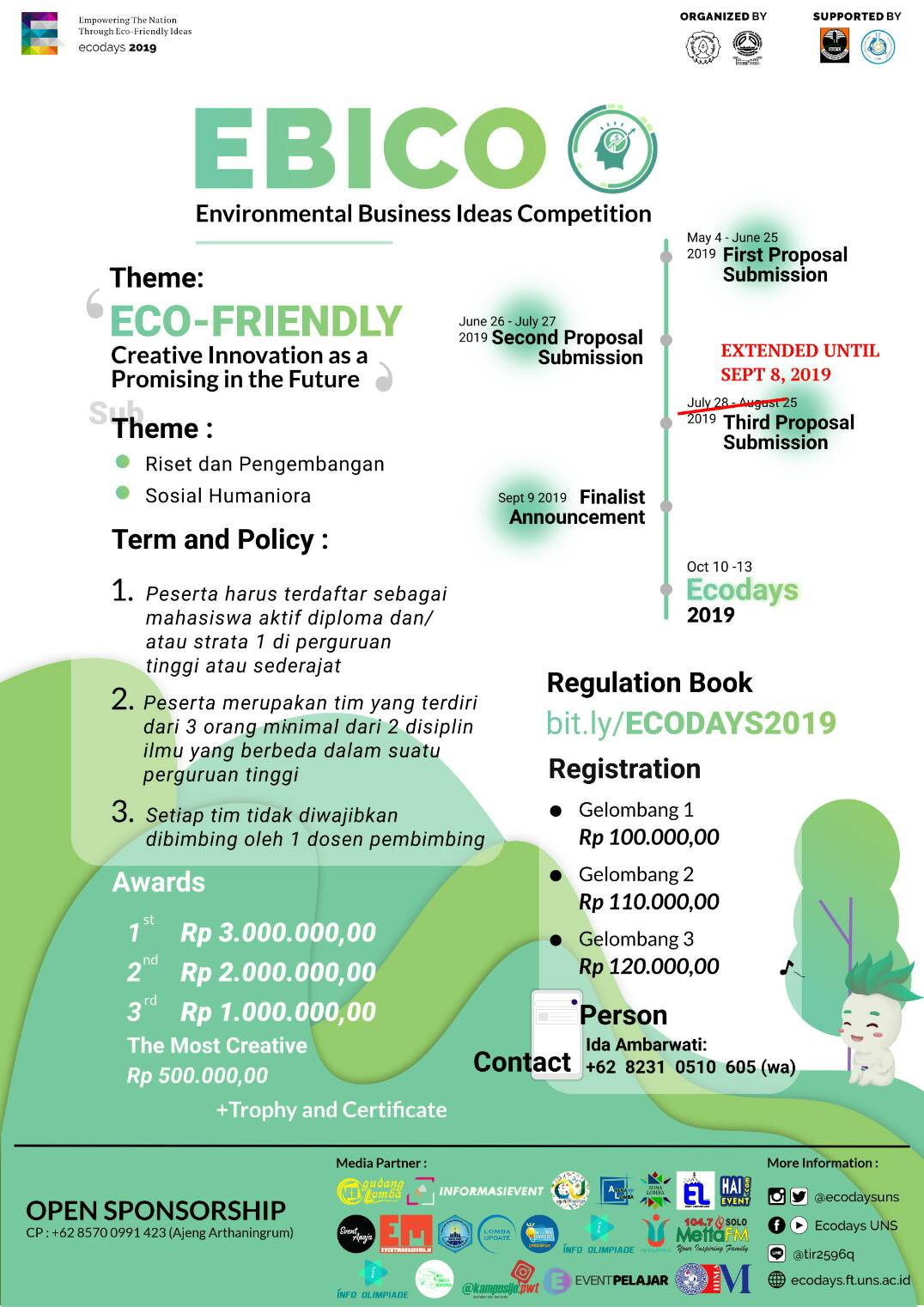 EBICO Environmental Business Ideas Competition 2019