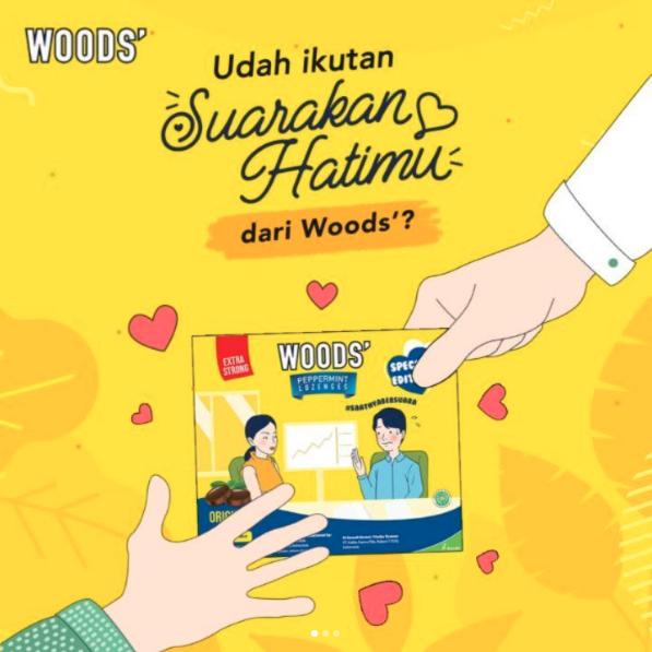 Suarakan Hatimu dari Woods