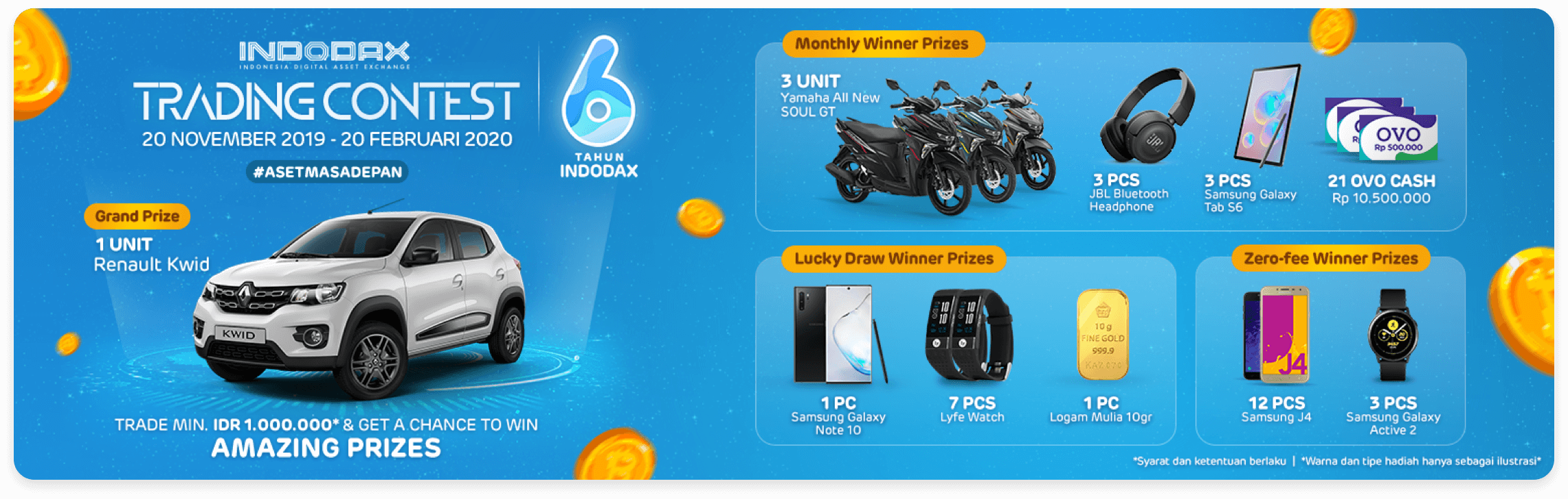 Indodax Trading Contest