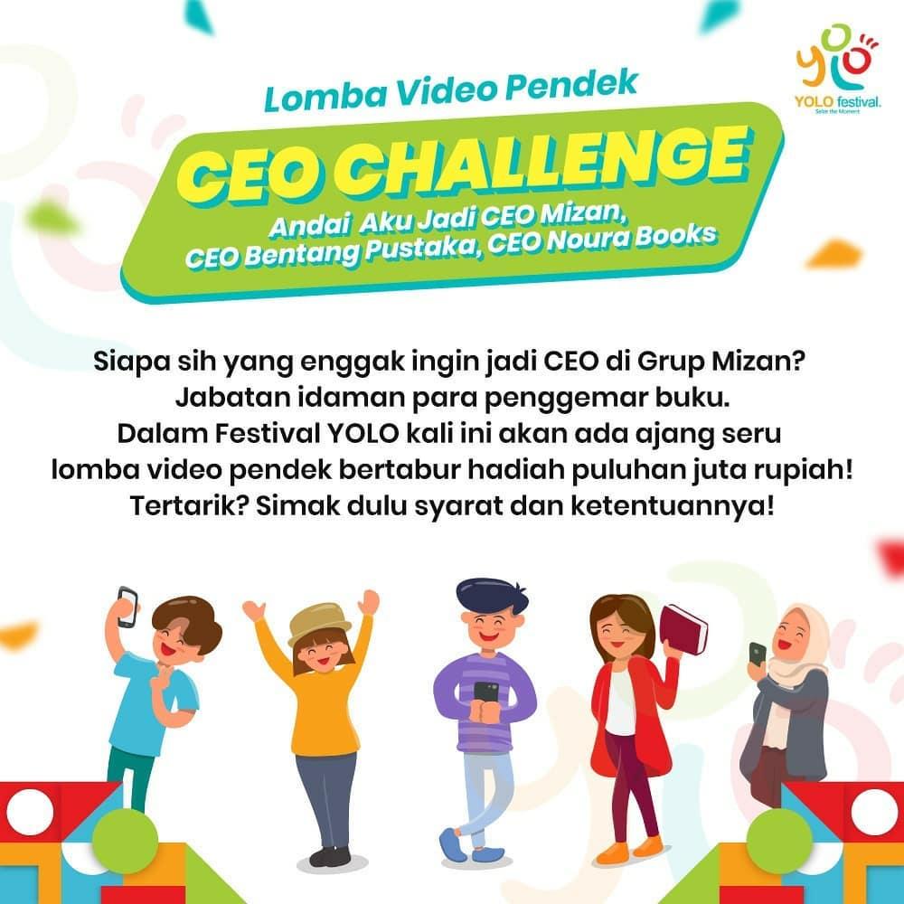 CEO Challenge dari Mizan