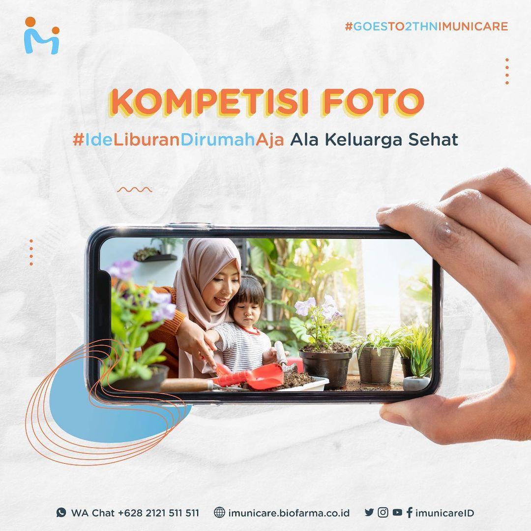 Kompetisi Foto Goes 2 Years Imuncare Id