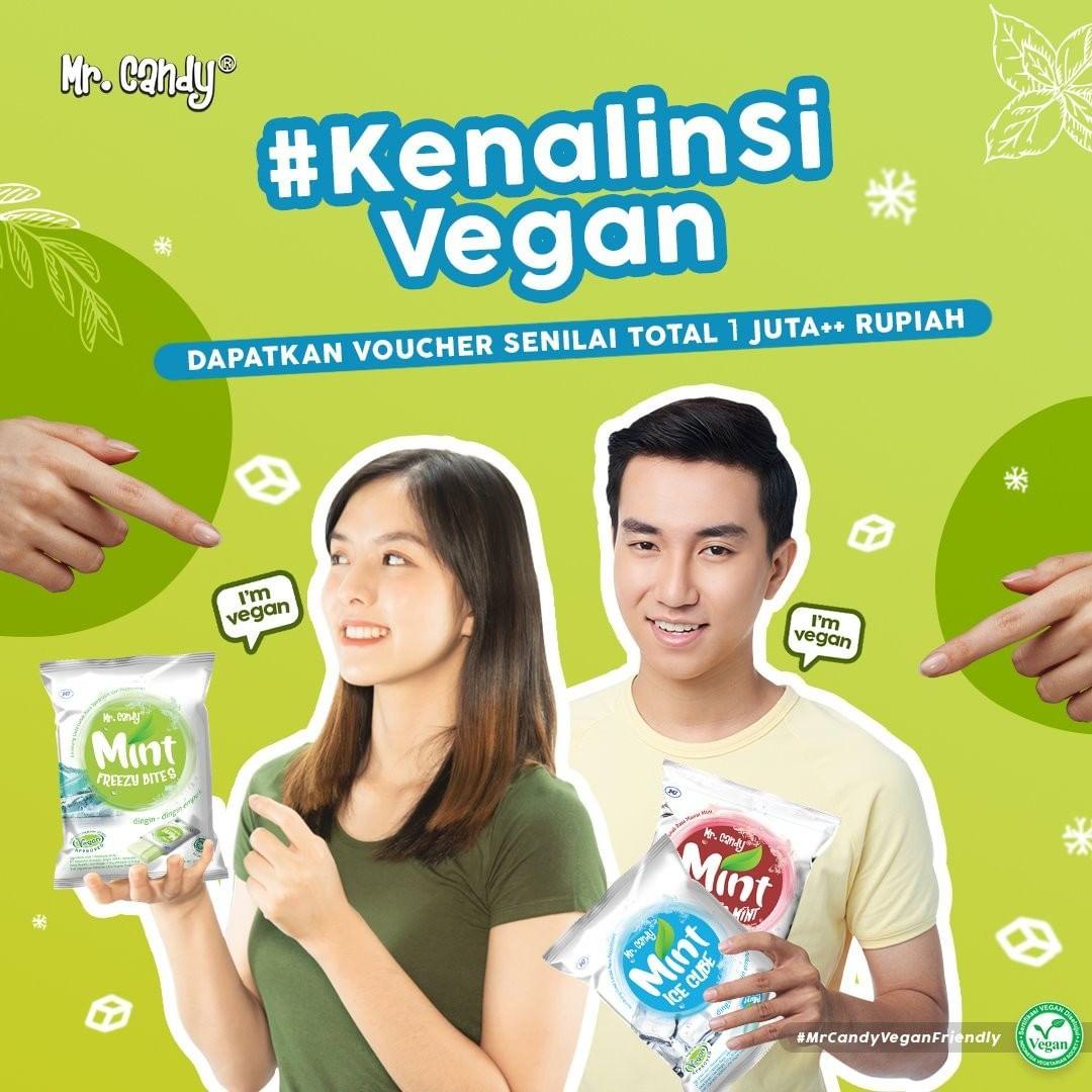 Kenalin Si Vegan dari Mr Candy Official