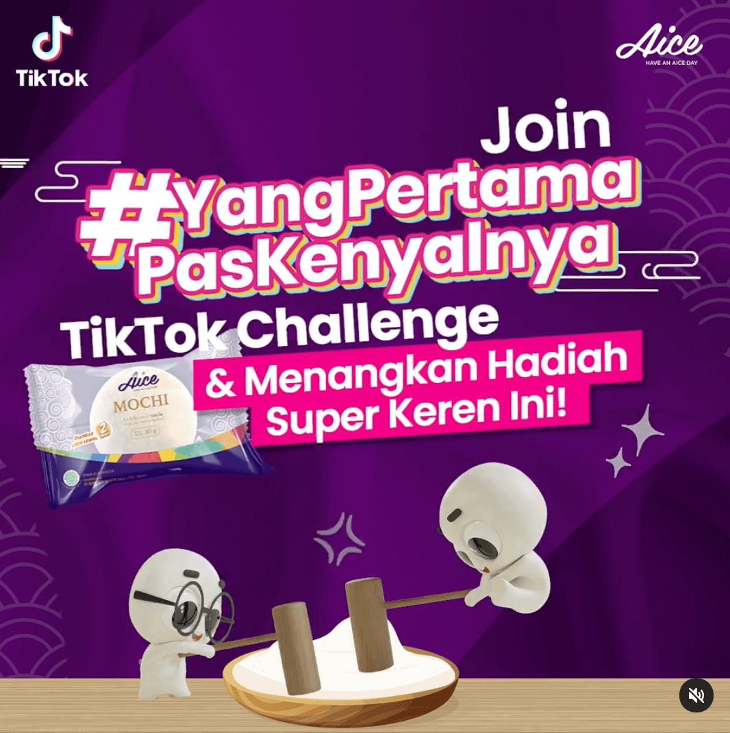 TikTok Challenge dari Aice Indonesia