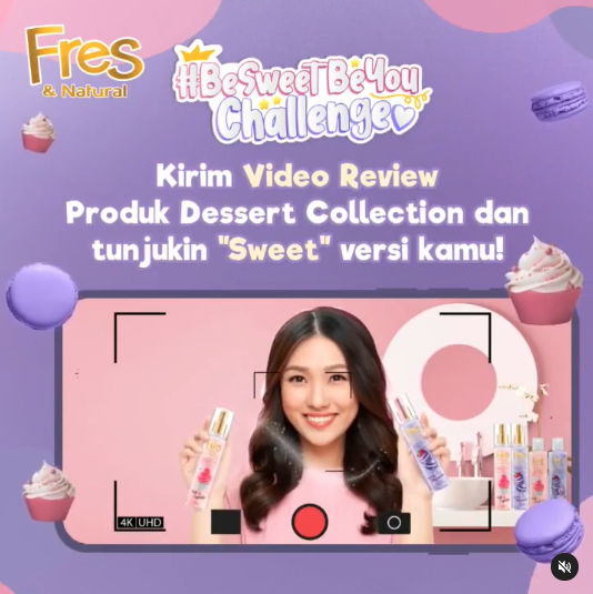 Fres  Natural Be Sweet Be You Challenge
