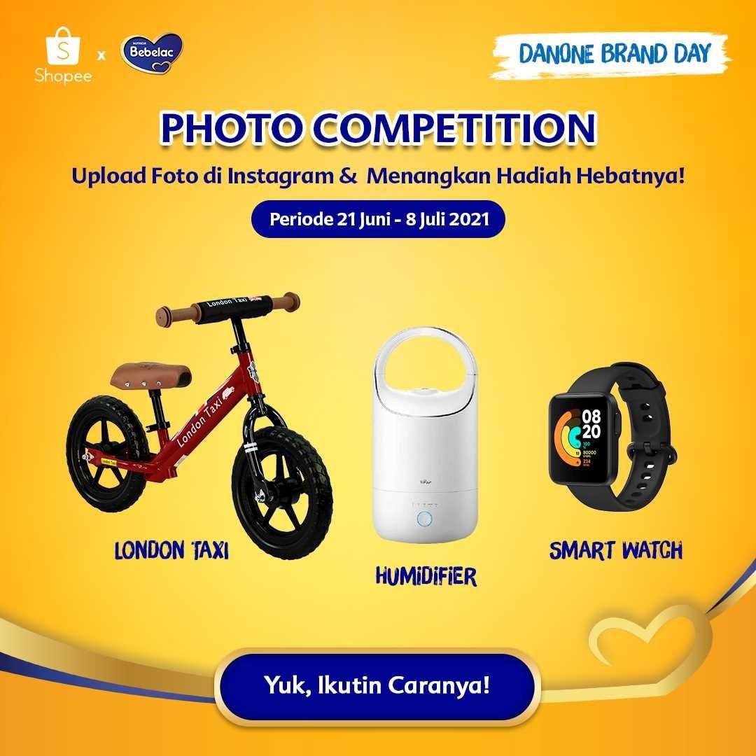 Photo Competition dari Bebelac dan Shopee