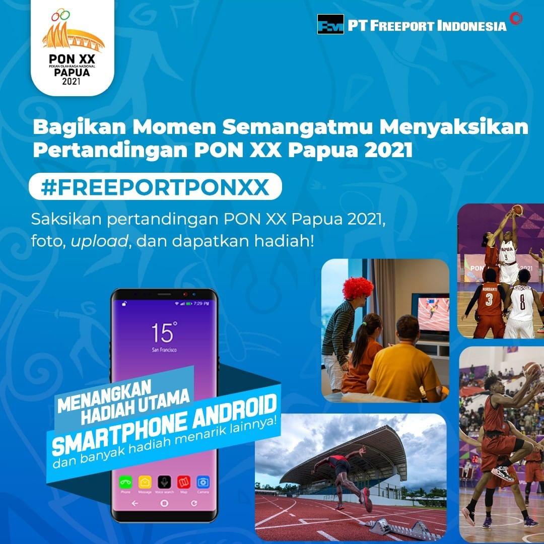 Kompetisi Fotografi Freeport PON XX Papua 2021