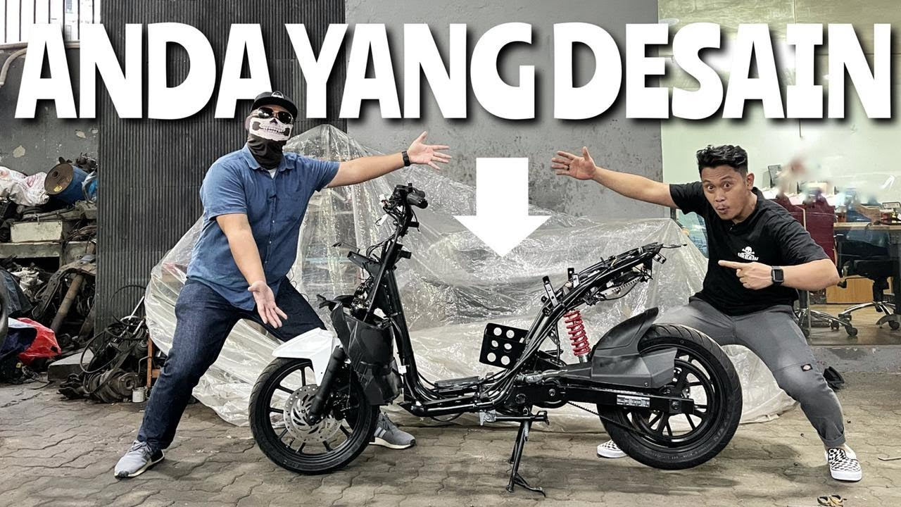 Kompetisi Desain Motor Gesits Bersama MotoMobi dan Katros Garage