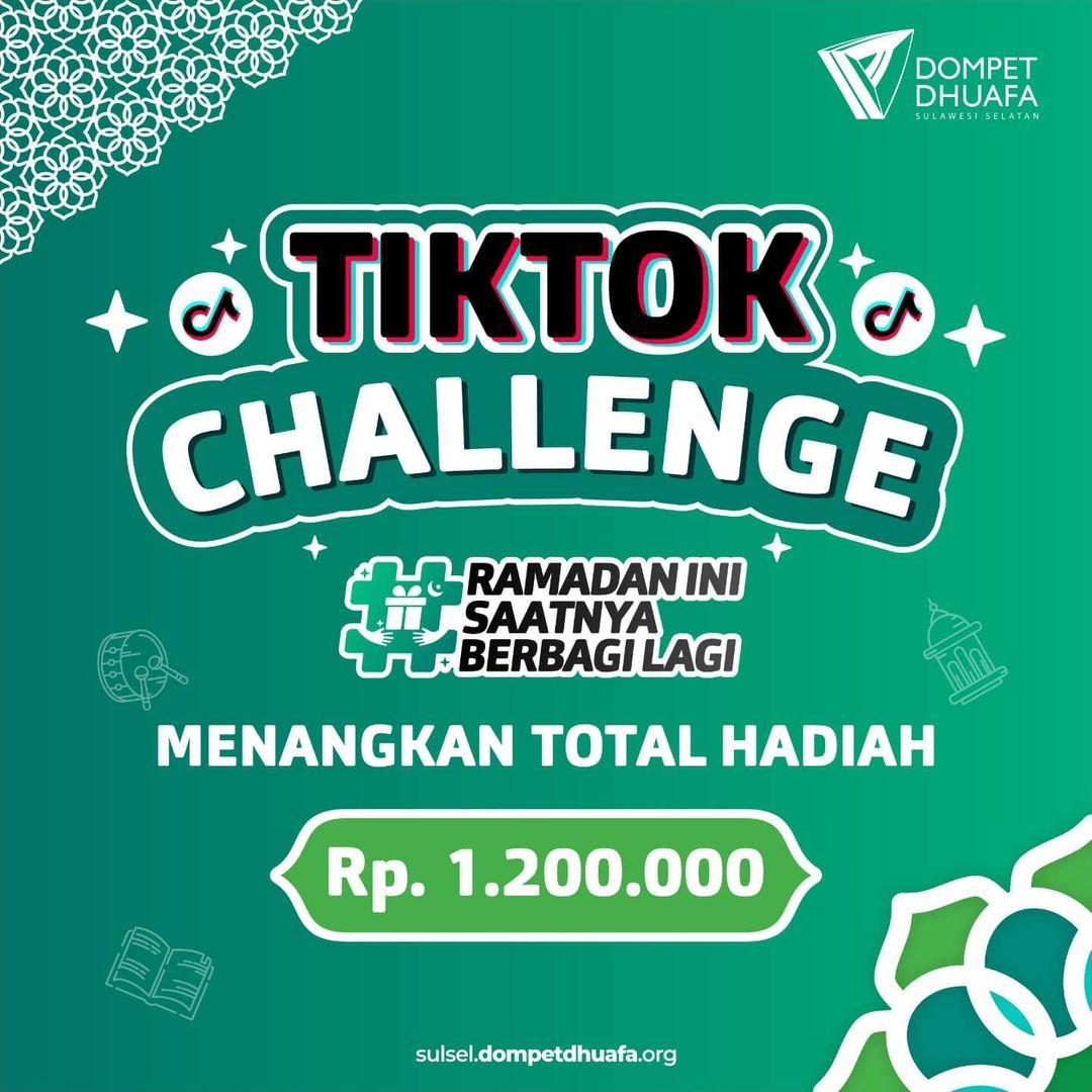 TikTok Challenge Ramada Berbagi Lagi dari Dompet Dhuafa
