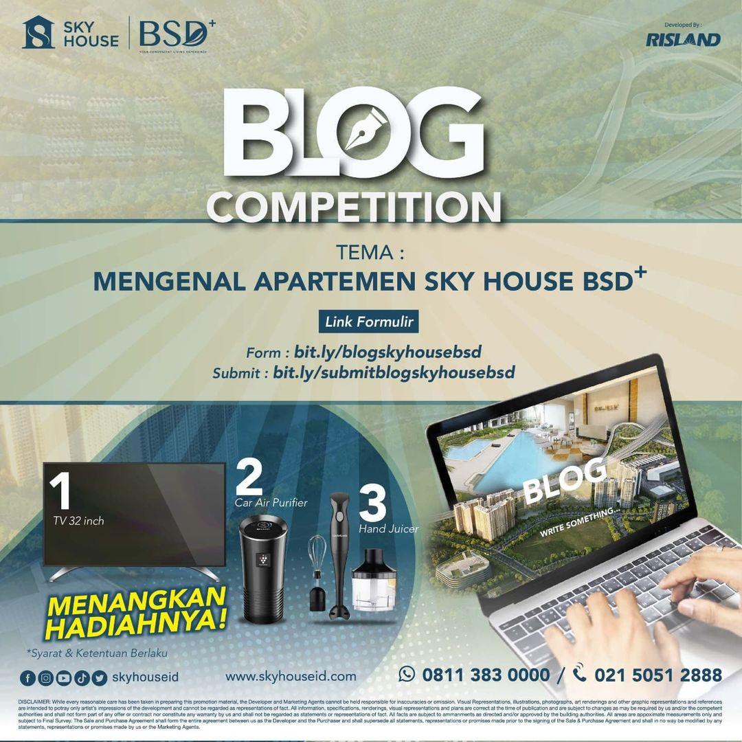 Blog Competition dari Sky House Id