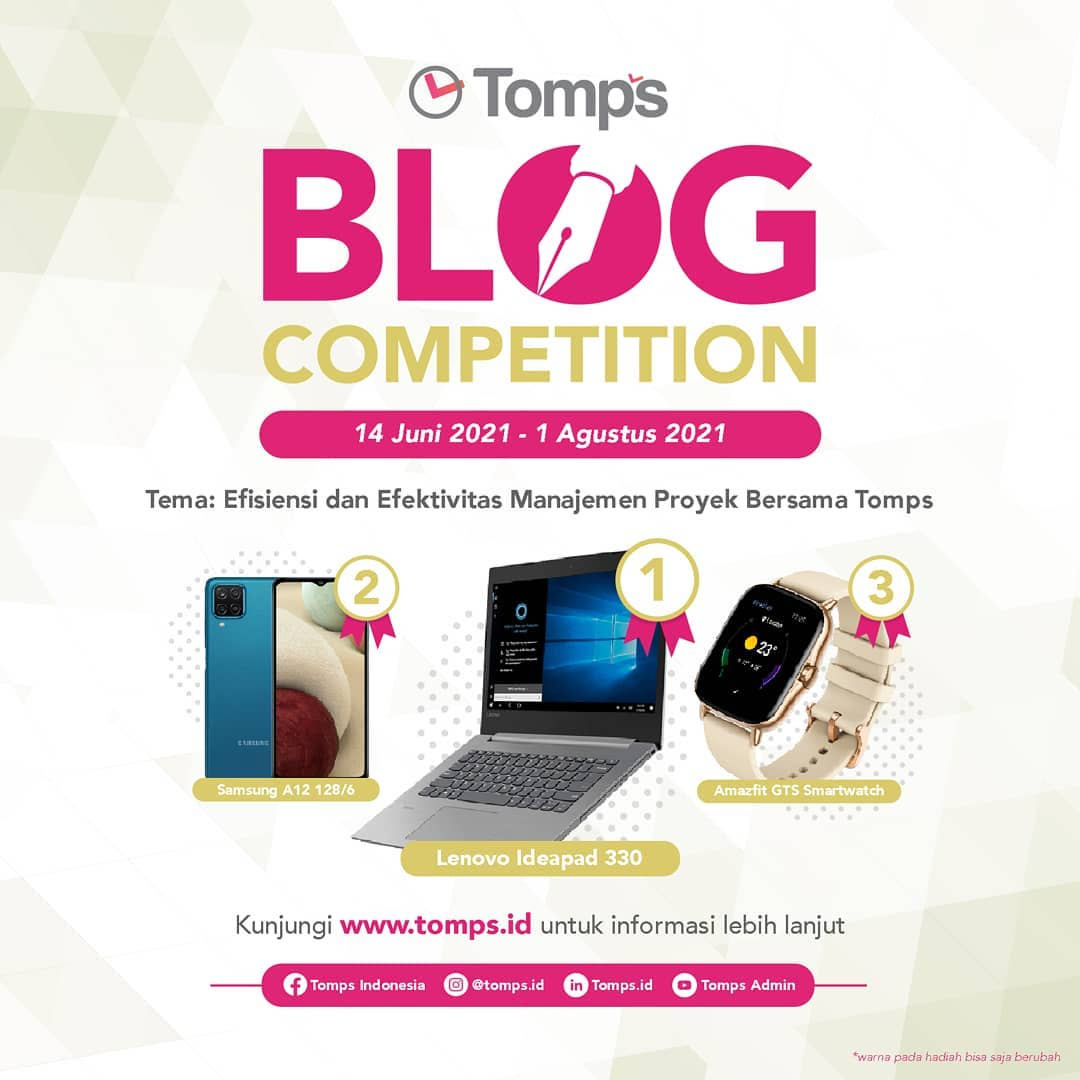 Tomps Blog Competition