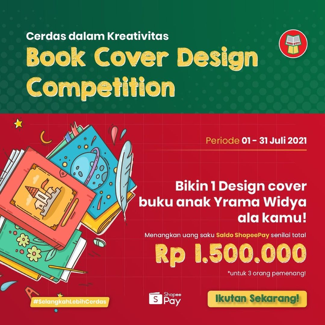 Book Cover Design Competition Cerdas dalam Kreativitas