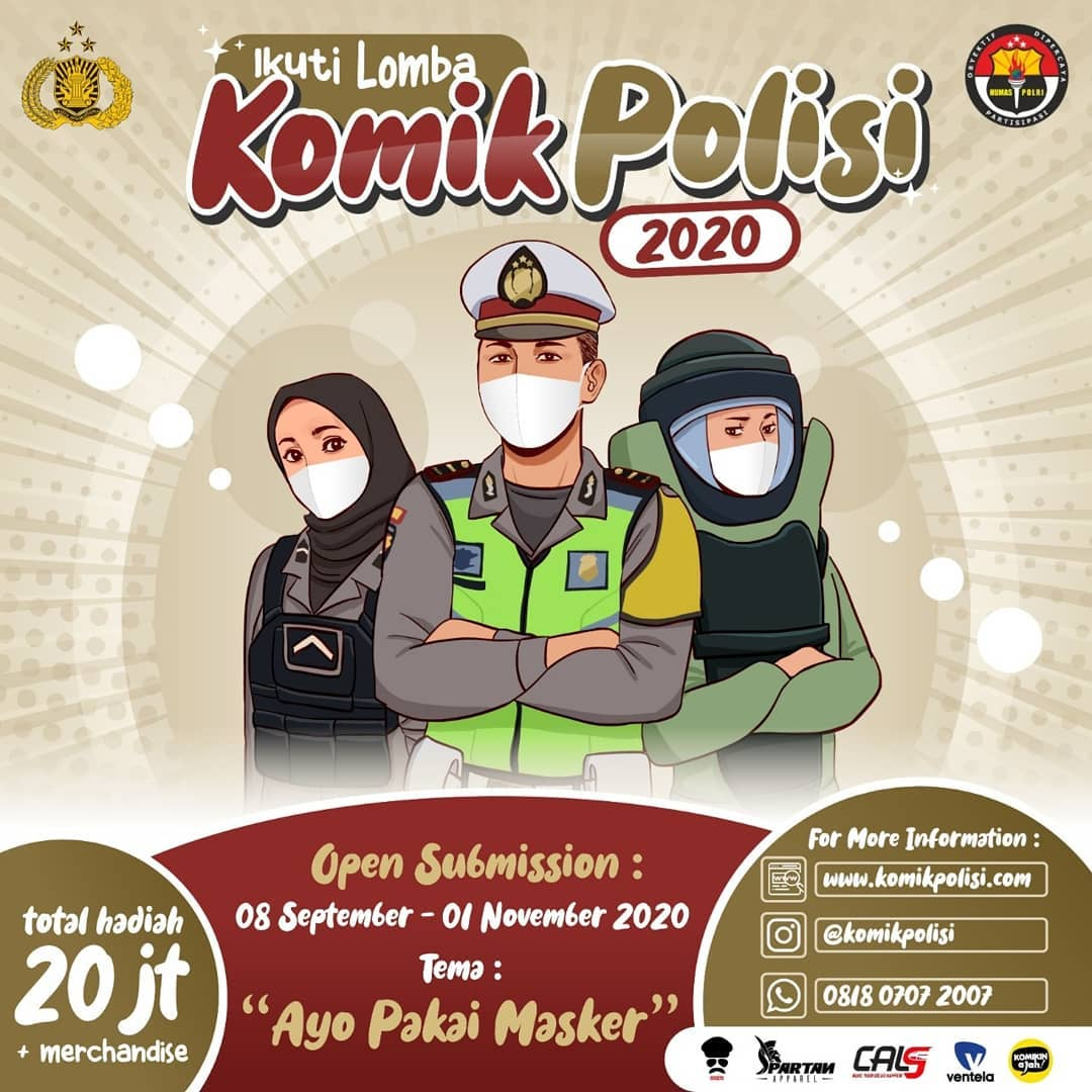 Lomba Komik Polisi 2020