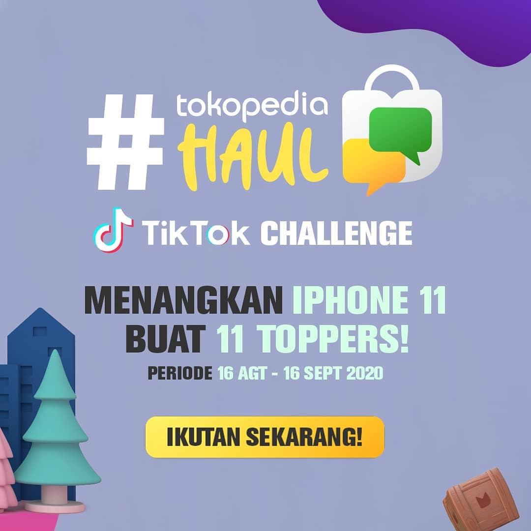Tokopedia Haul TikTok Challenge